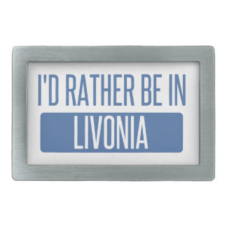 I'd rather be in Livonia Belt Buckles