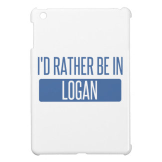 I'd rather be in Logan Cover For The iPad Mini