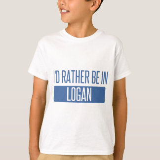 I'd rather be in Logan T-Shirt