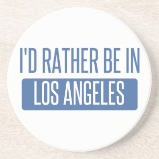 I'd rather be in Los Angeles Beverage Coaster