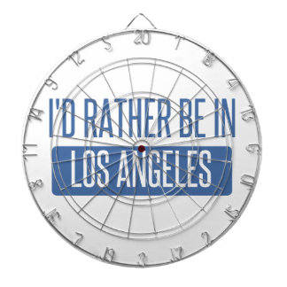 I'd rather be in Los Angeles Dartboard