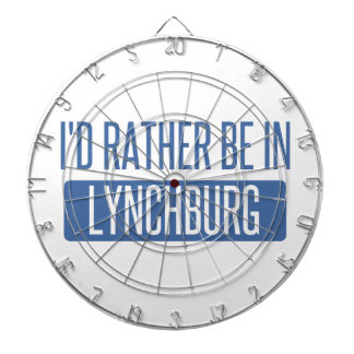 I'd rather be in Lynchburg Dartboard