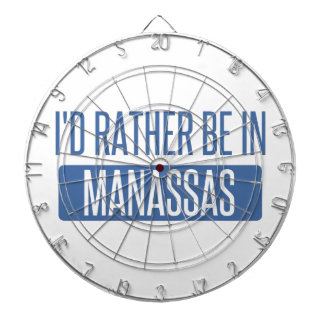I'd rather be in Manassas Dartboard
