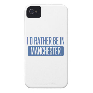 I'd rather be in Manchester iPhone 4 Cover