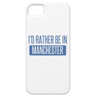 I'd rather be in Manchester iPhone 5 Covers