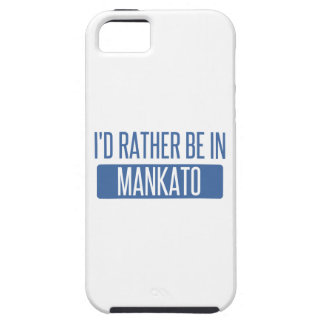 I'd rather be in Mankato iPhone 5 Cases