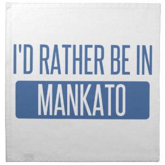 I'd rather be in Mankato Napkin