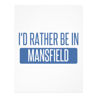 I'd rather be in Mansfield OH Letterhead