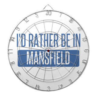 I'd rather be in Mansfield TX Dartboard