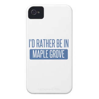 I'd rather be in Maple Grove iPhone 4 Cover