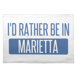 I'd rather be in Marietta Placemat