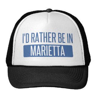 I'd rather be in Marietta Trucker Hat