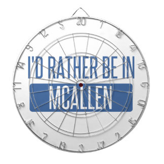I'd rather be in McAllen Dartboard
