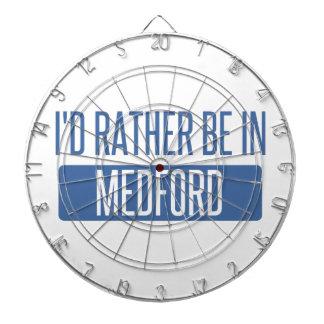 I'd rather be in Medford MA Dartboard