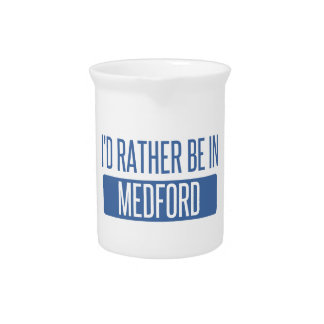 I'd rather be in Medford MA Pitcher