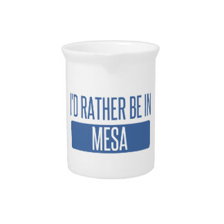 I'd rather be in Mesa Pitcher