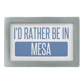 I'd rather be in Mesa Rectangular Belt Buckles