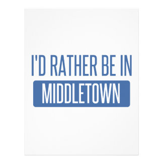 I'd rather be in Middletown OH Letterhead