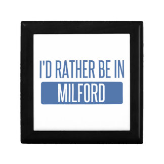 I'd rather be in Milford Jewelry Box