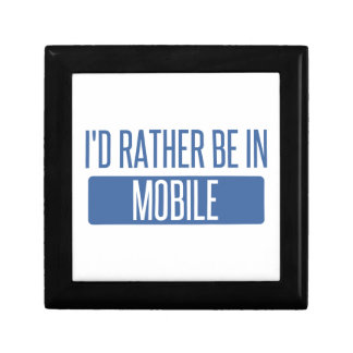 I'd rather be in Mobile Jewelry Boxes