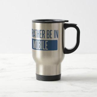 I'd rather be in Mobile Travel Mug