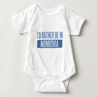 I'd rather be in Monrovia Baby Bodysuit