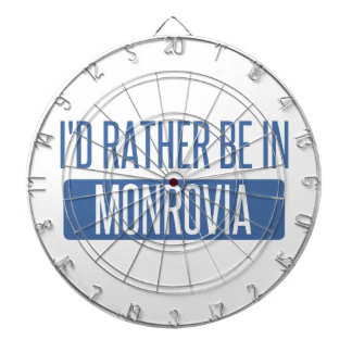 I'd rather be in Monrovia Dartboard