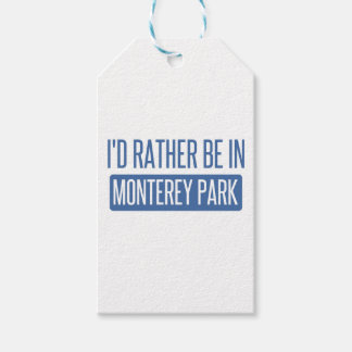 I'd rather be in Monterey Park Pack Of Gift Tags