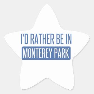 I'd rather be in Monterey Park Star Sticker