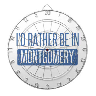 I'd rather be in Montgomery Dartboard