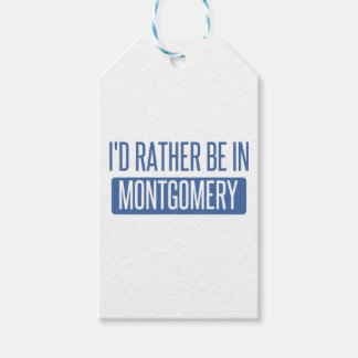 I'd rather be in Montgomery Gift Tags