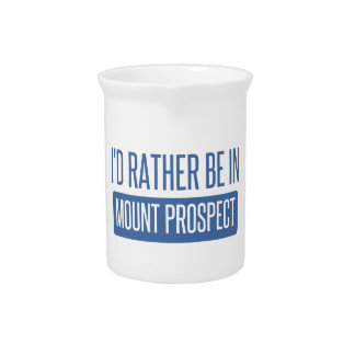 I'd rather be in Mount Prospect Pitcher