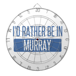 I'd rather be in Murray Dartboard