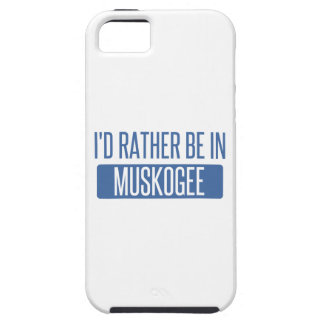 I'd rather be in Muskogee iPhone 5 Covers