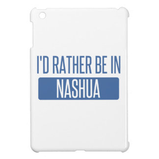 I'd rather be in Nashua iPad Mini Covers