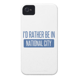I'd rather be in National City Case-Mate iPhone 4 Case