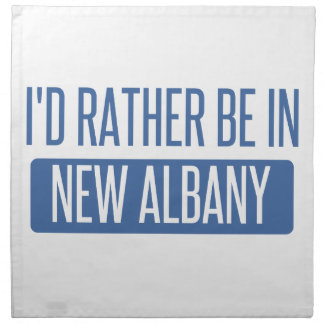 I'd rather be in New Albany Napkin