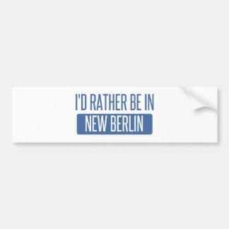 I'd rather be in New Berlin Bumper Sticker