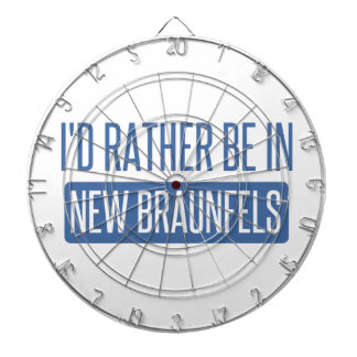 I'd rather be in New Braunfels Dartboard