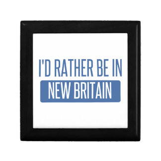 I'd rather be in New Britain Keepsake Box
