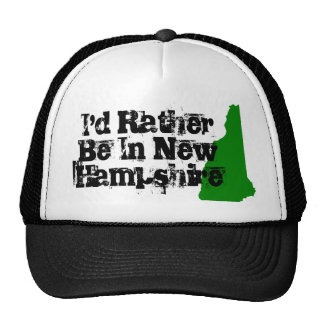 I'd Rather be in New Hampshire Trucker Hat