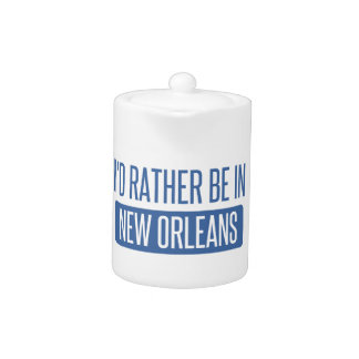 I'd rather be in New Orleans