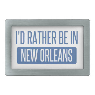 I'd rather be in New Orleans Belt Buckle