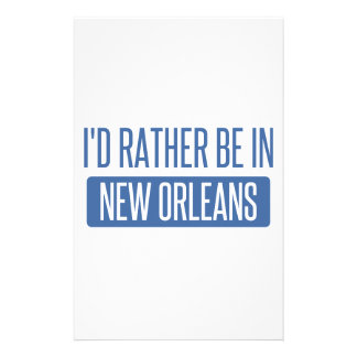 I'd rather be in New Orleans Stationery