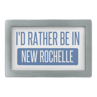 I'd rather be in New Rochelle Belt Buckles