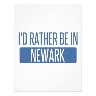 I'd rather be in Newark OH Letterhead