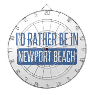 I'd rather be in Newport Beach Dartboards