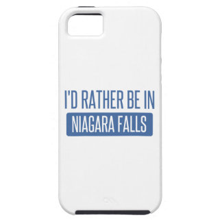 I'd rather be in Niagara Falls iPhone 5 Cover