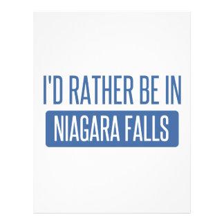 I'd rather be in Niagara Falls Letterhead