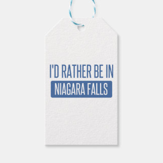 I'd rather be in Niagara Falls Pack Of Gift Tags
